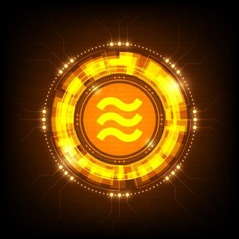 Symbol monety facebook libra