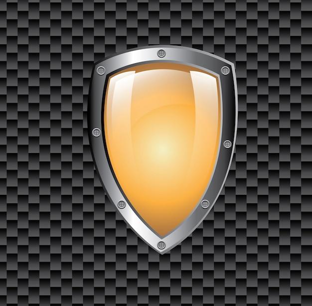 Symbol ochrony tarczy