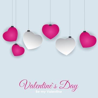 Symbol serca walentynki. desig tło miłości i uczuć