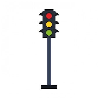 Symbol sygnalizacji świetlnej
