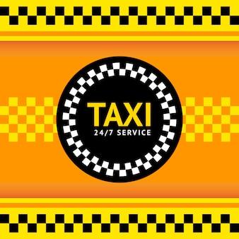 Symbol taksówki