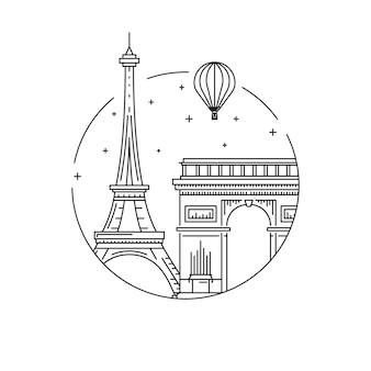 Symbole paryża