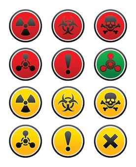 Symbole zagrożenia