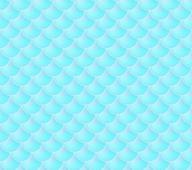 Syrenka wzór łuski