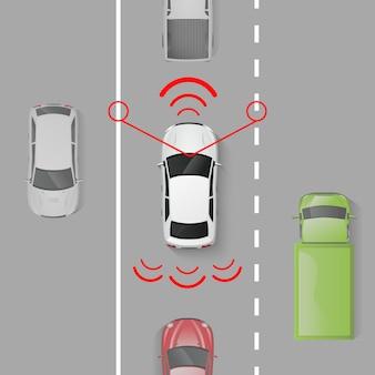 System bezpieczeństwa samochodu