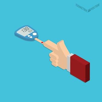 System monitorowania poziomu glukozy we krwi