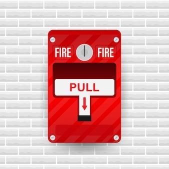 System sygnalizacji pożaru sprzęt przeciwpożarowy