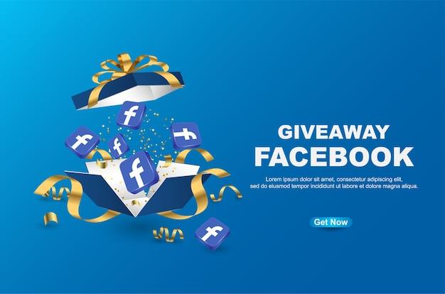 Szablon banera na facebooku gratisów