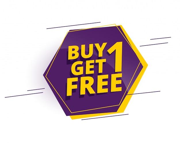 Szablon banera na zakupy ze szczegółami oferty