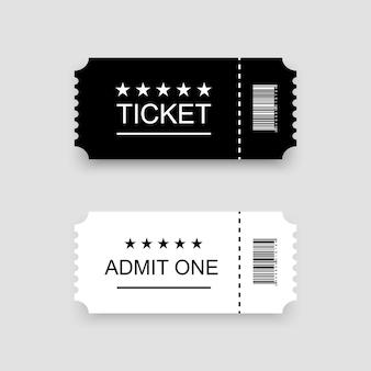 Szablon biletu lub kuponu