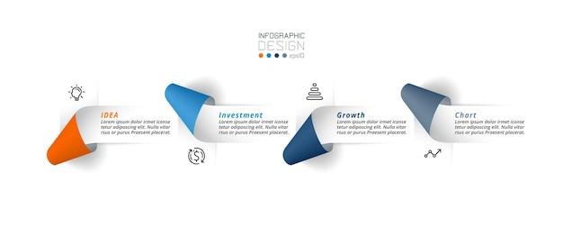 Szablon biznesowy lub marketingowy plansza