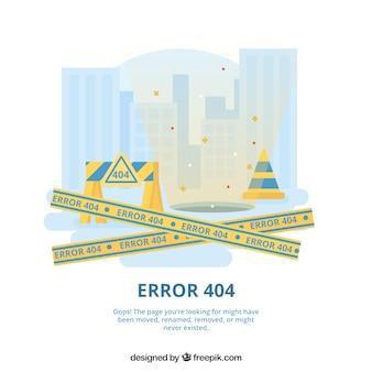 Szablon błędu flat 404