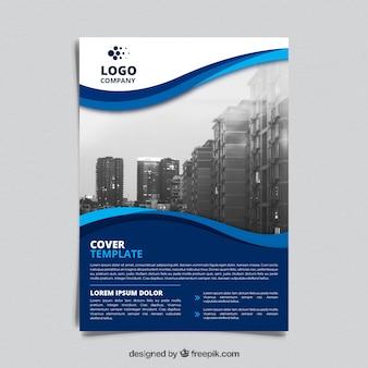 Szablon broszur korporacyjnych