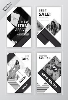 Szablon broszura społecznościowych z kobietą
