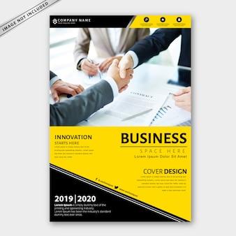 Szablon broszury biznesowej