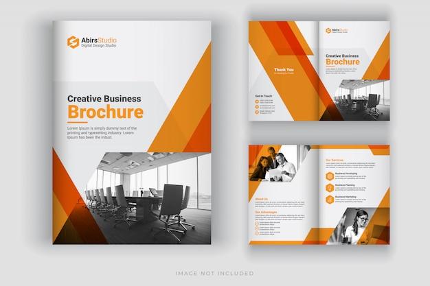 Szablon broszury firmowej lub profil firmy