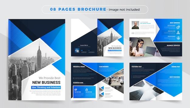 Szablon broszury korporacyjnej i biznesowej
