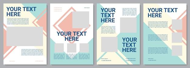 Szablon broszury obsługi klienta. informacja dla klientow. ulotka, broszura, druk ulotek, projekt okładki z miejscem na kopię. twój tekst tutaj. układy wektorowe czasopism, raportów rocznych, plakatów reklamowych