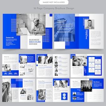 Szablon broszury profilu firmy