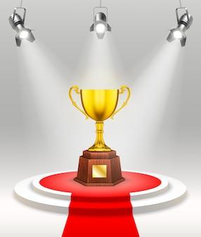 Szablon ceremonii wręczenia nagród świetlnych