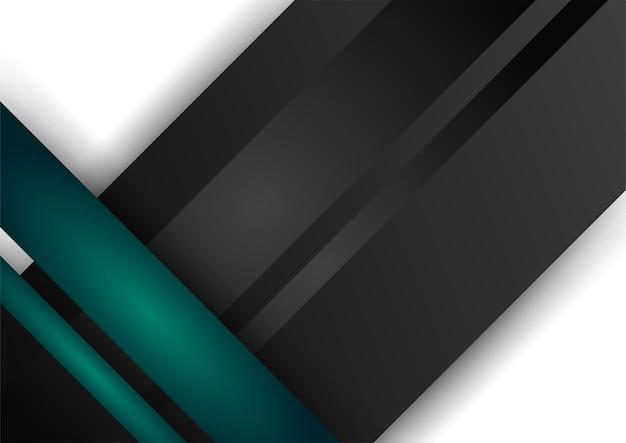 Szablon certyfikatu kolor zielony i złoty streszczenie tło geometryczne gradientu. garnitur na tło prezentacji, baner, plakat, ulotkę, okładkę, wizytówkę i wiele więcej