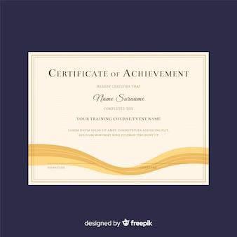 Szablon certyfikatu kreacji