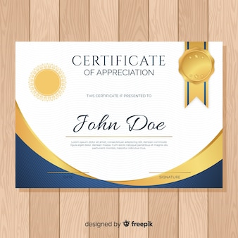 Szablon certyfikatu