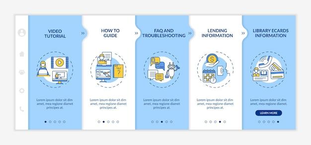 Szablon dołączania do infolinii biblioteki online