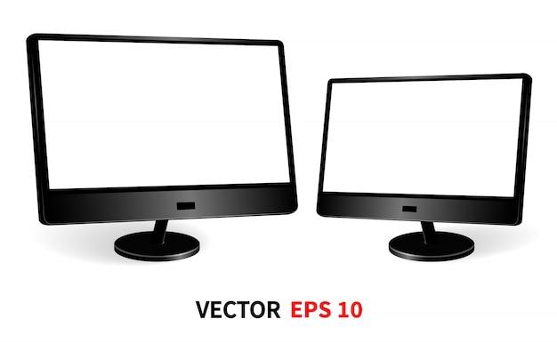 Szablon dwóch monitorów