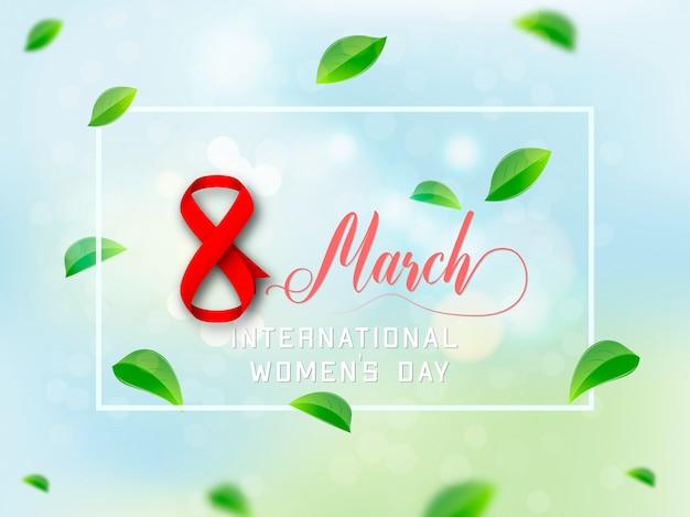 Szablon dzień kobiet 8 marca tło.
