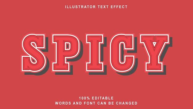 Szablon efekt tekstowy 3d ostry styl