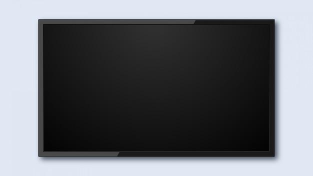 Szablon ekranu telewizora