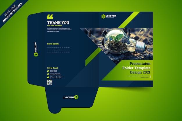 Szablon folderu prezentacji