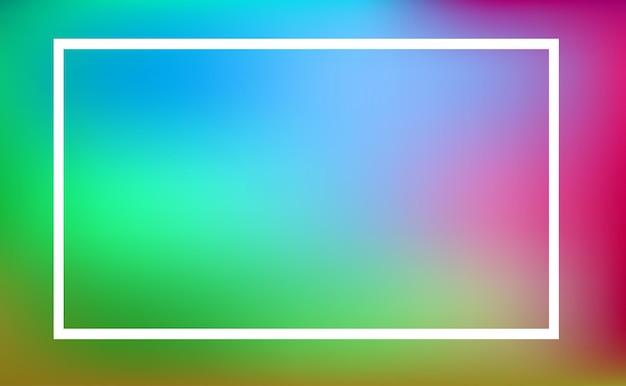 Szablon granicy z kolorowym tłem