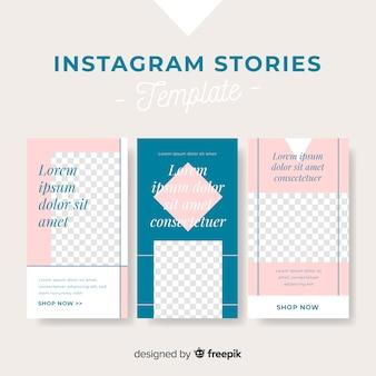 Szablon historii na instagramie