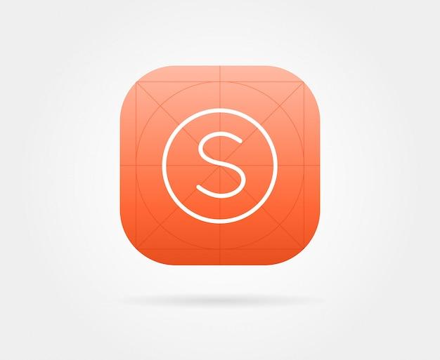 Szablon ikony aplikacji