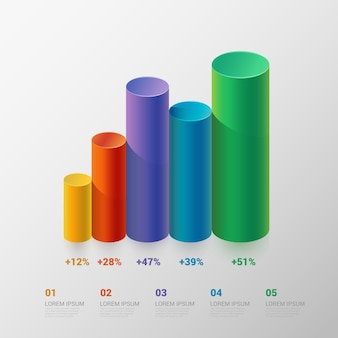 Szablon infografika