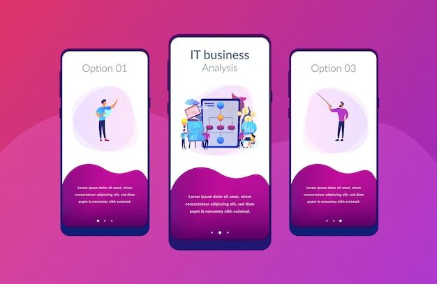 Szablon interfejsu aplikacji do zarządzania procesami biznesowymi