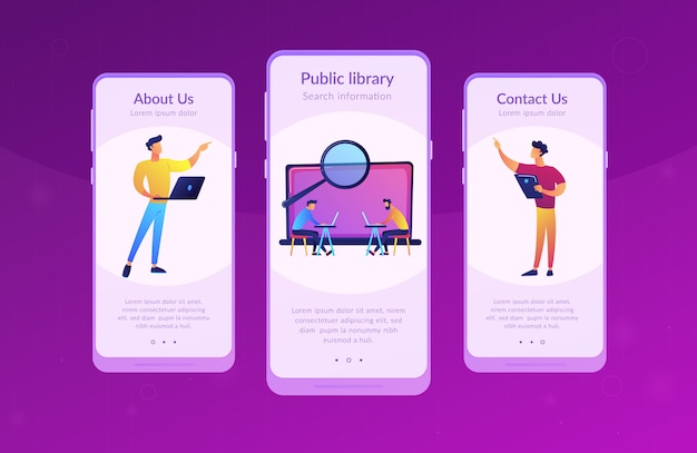 Szablon interfejsu aplikacji laboratorium akademickiego.