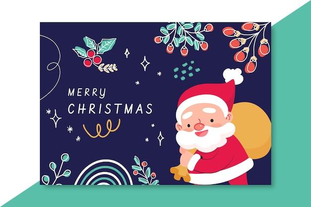 Szablon kartki świąteczne