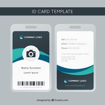 Szablon karty identyfikacyjnej
