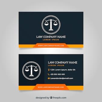 Szablon karty prawnika