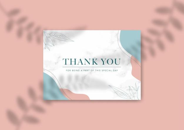 Szablon karty z pozdrowieniami ślubnymi