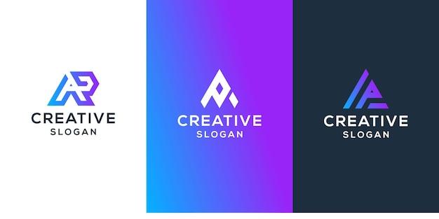Szablon kolekcji projektu logo