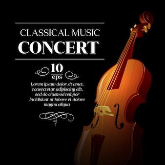 Szablon koncertu muzyki klasycznej
