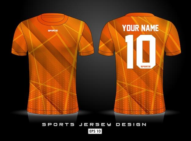 Szablon koszulki sportowej