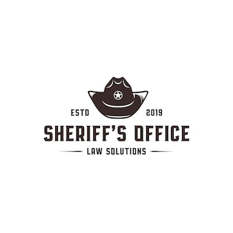 Szablon logo biura szeryfa