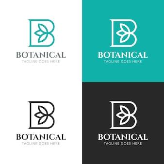 Szablon logo botanicznego