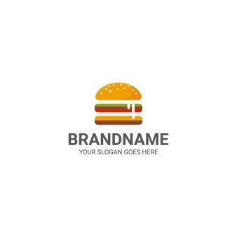 Szablon logo cheeseburgera