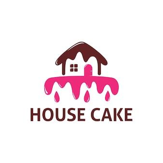Szablon logo ciasto domowe